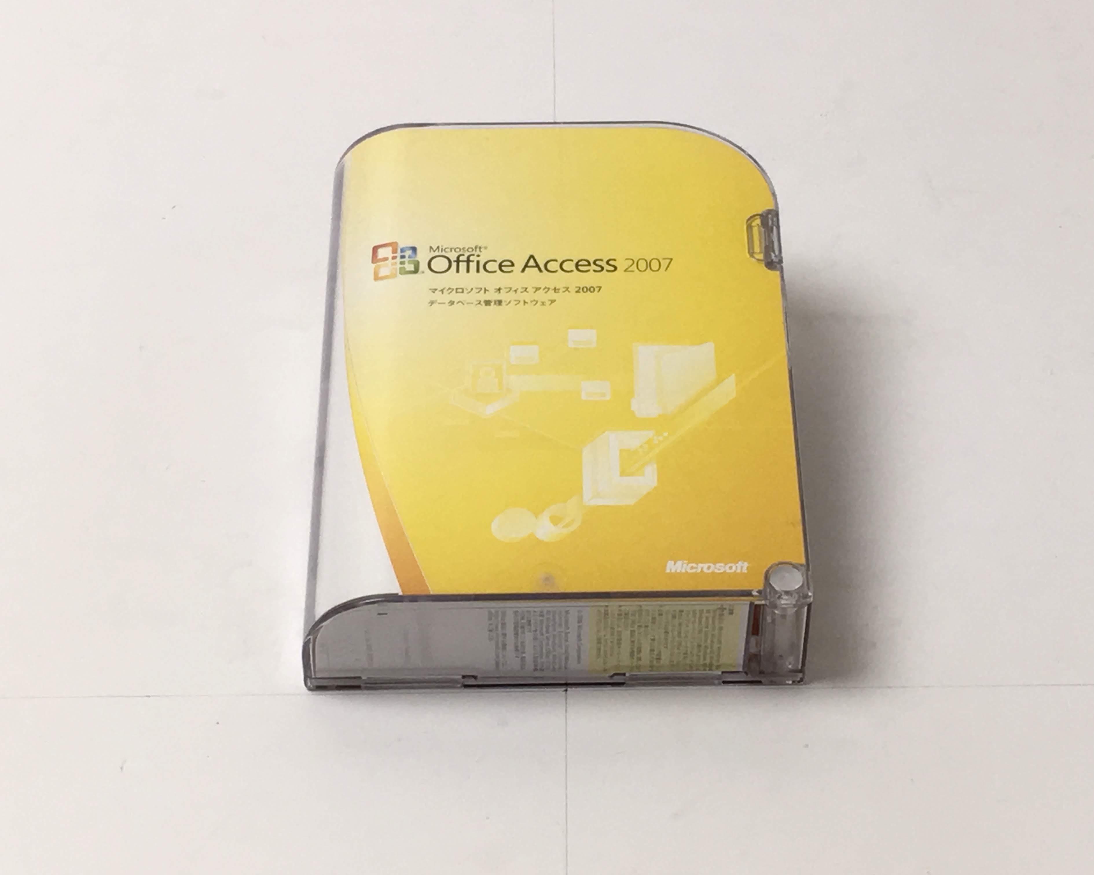 【中古】Microsoft Office Access 2007 メイン画像