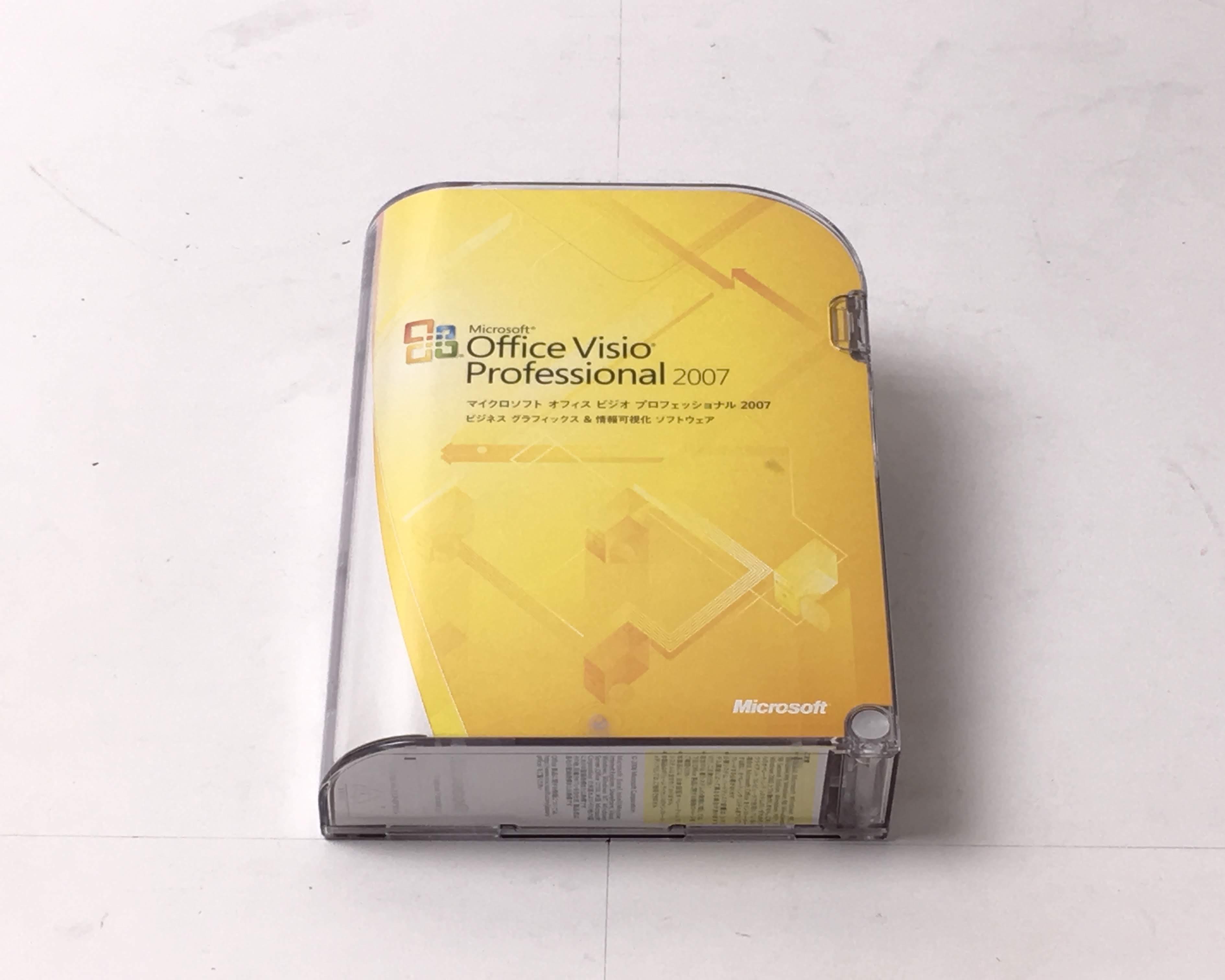 【中古品】Microsoft Office Visio Professional 2007 Windows メイン画像