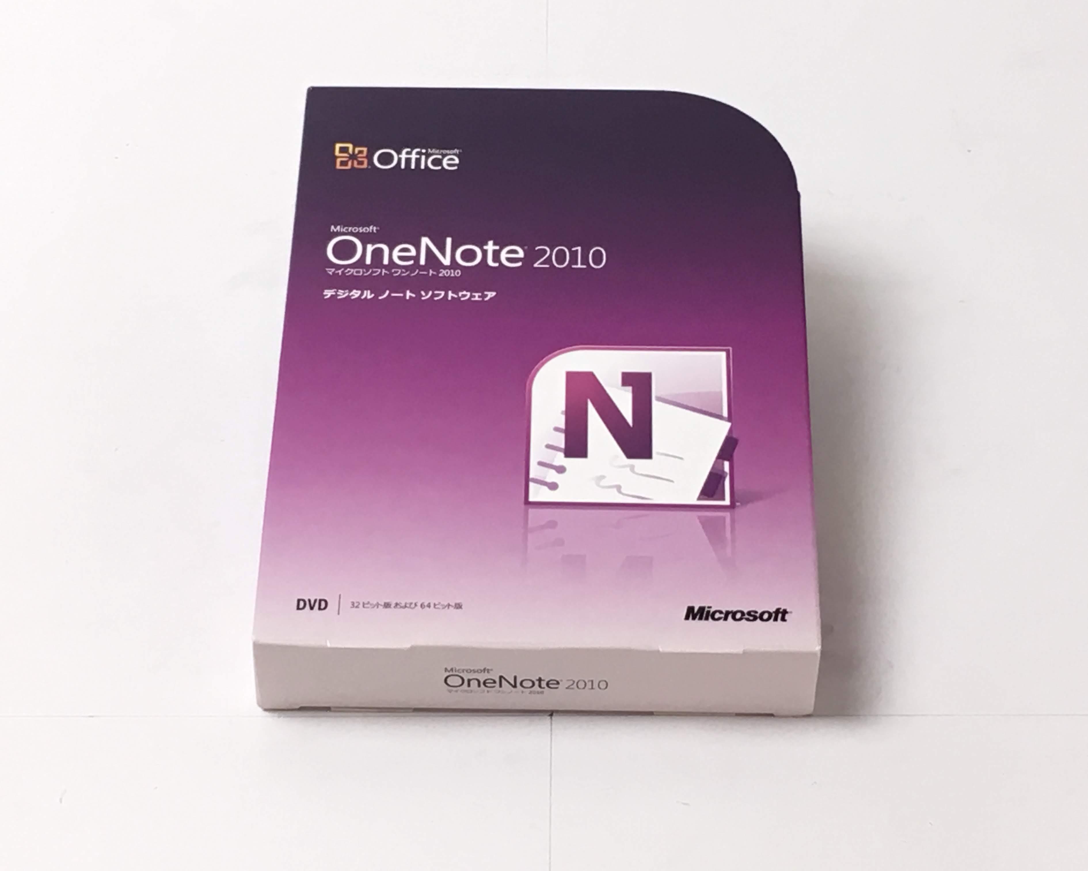 【中古】Microsoft Office OneNote 2010 通常版 メイン画像