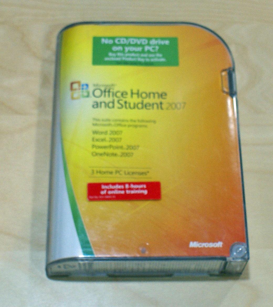 【中古】Office Home and Student 2007 英語版