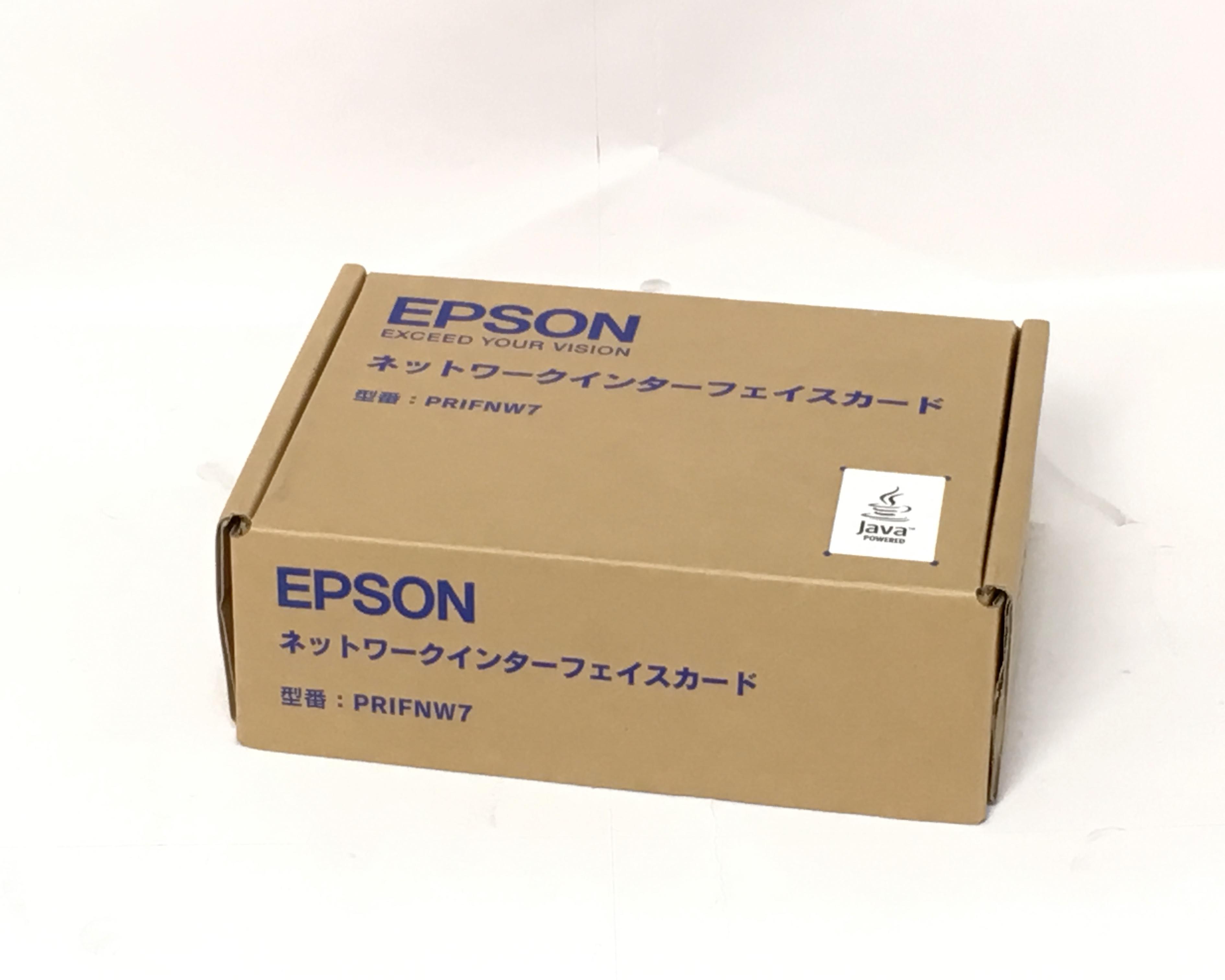 【優良中古】EPSON ネッワークオプションカード PRIFNW7 メイン画像