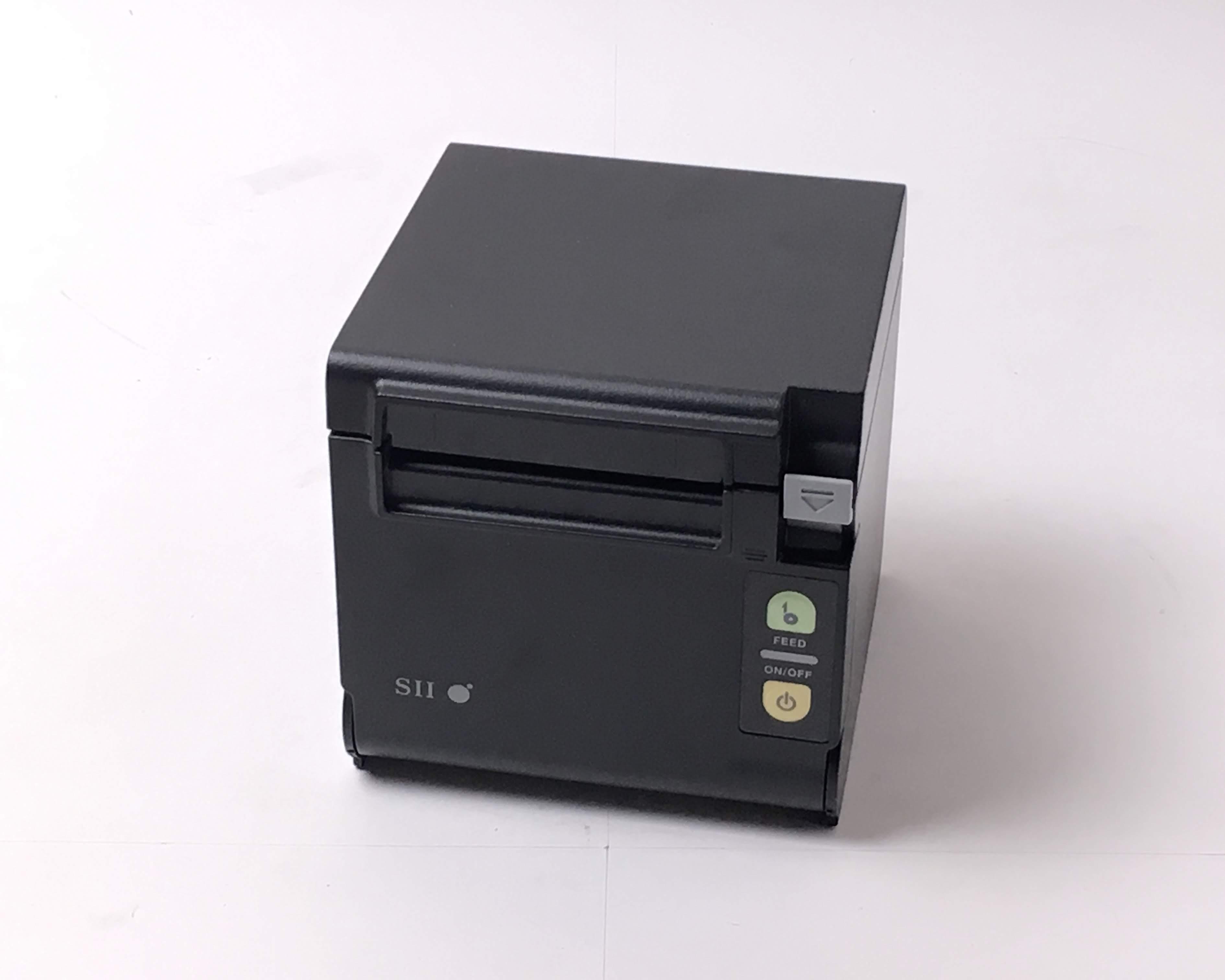 【優良中古】SII レシートプリンタ PR-D10(USB/80mm)ブラック メイン画像