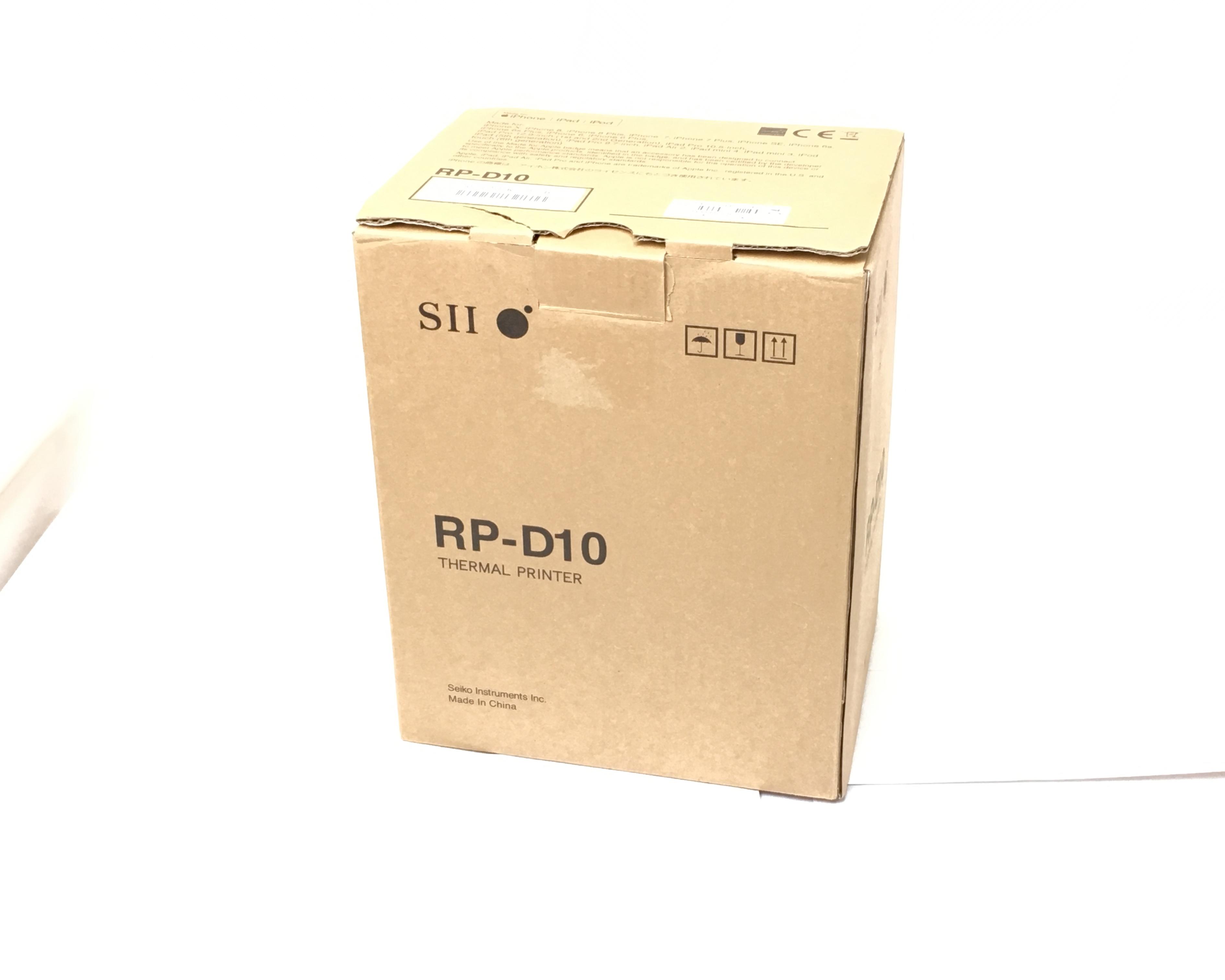【優良中古】SII レシートプリンタ PR-D10(Bluetooth/80mm)ブラック メイン画像