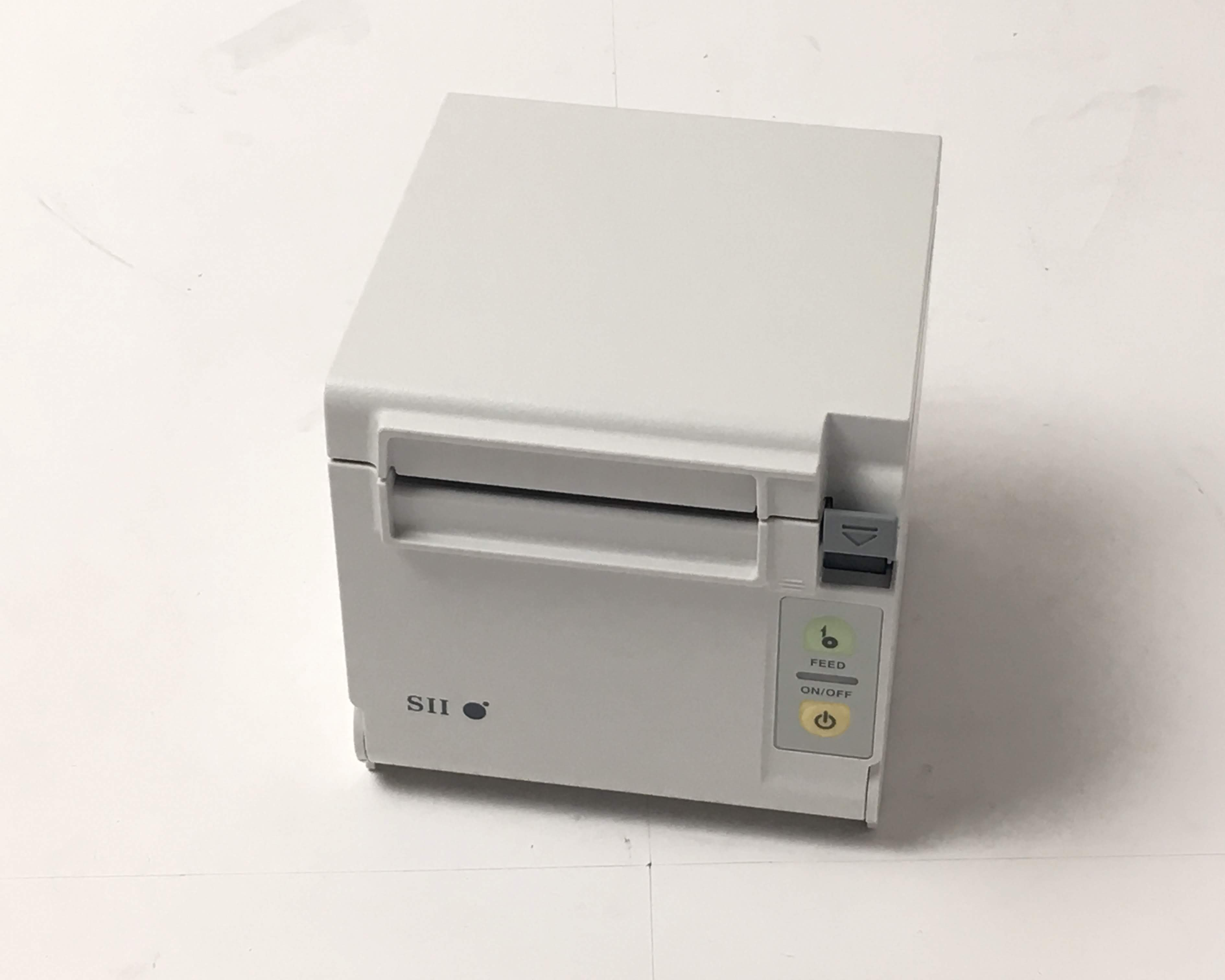 【優良中古】SII レシートプリンタ PR-D10(USB/80mm)ホワイト メイン画像