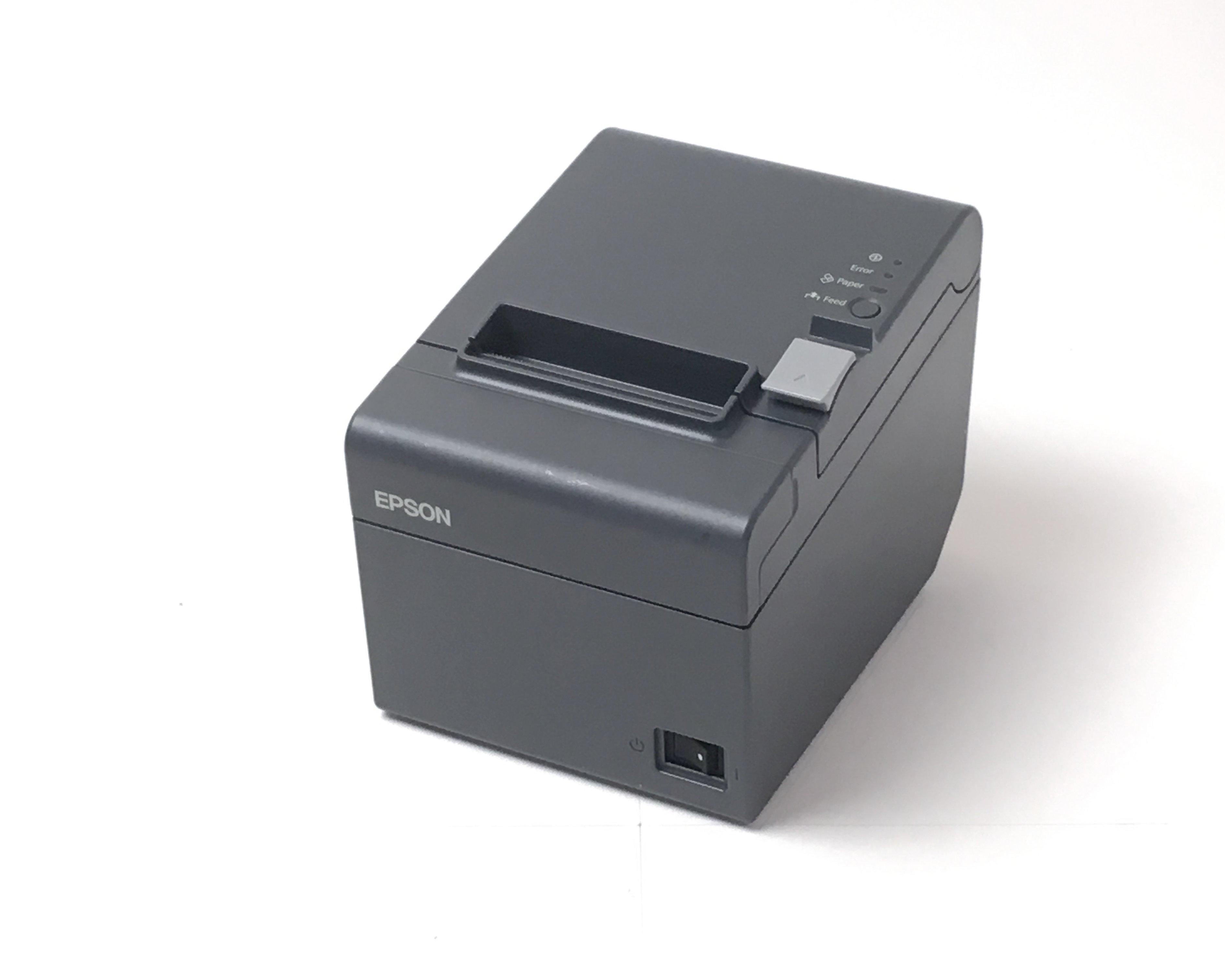 【優良中古】EPSON レシートプリンタ TM-T202(LAN/80mm)ブラック メイン画像