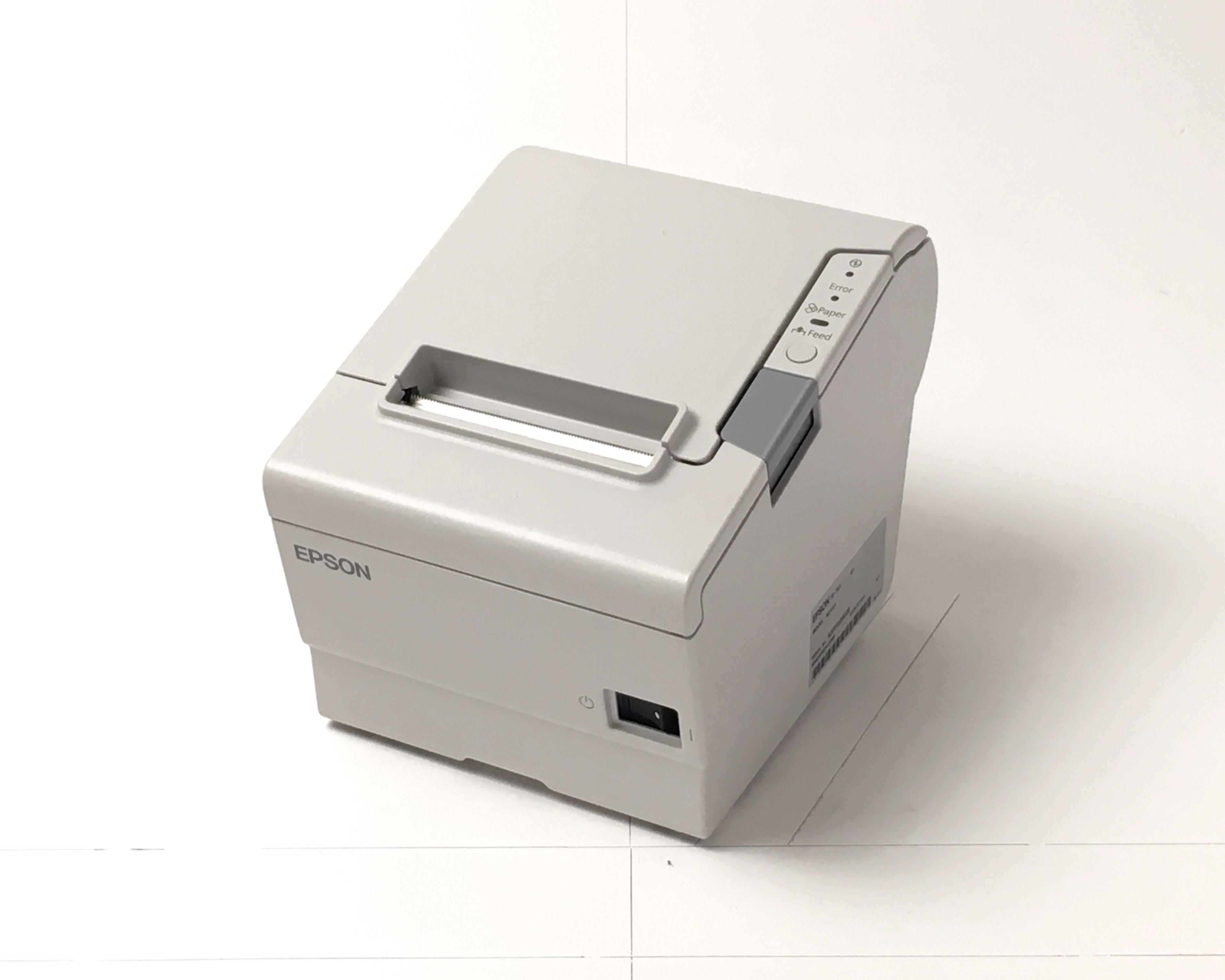【優良中古】EPSON レシートプリンター TM-T885(USB/80mm)ホワイト メイン画像