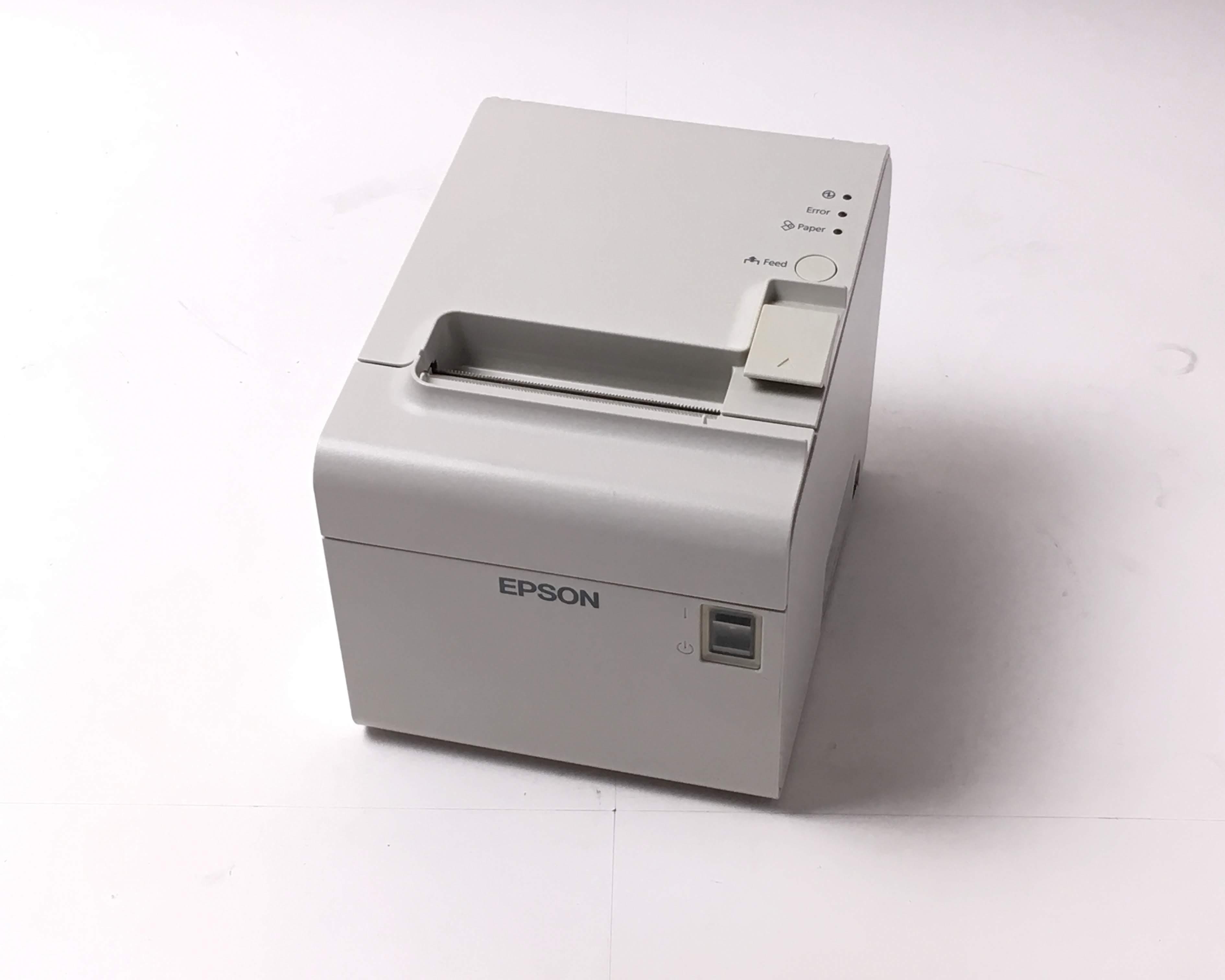 【優良中古】EPSON レシートプリンター TM-T90II (USB/無線LAN 80mm)ホワイト メイン画像