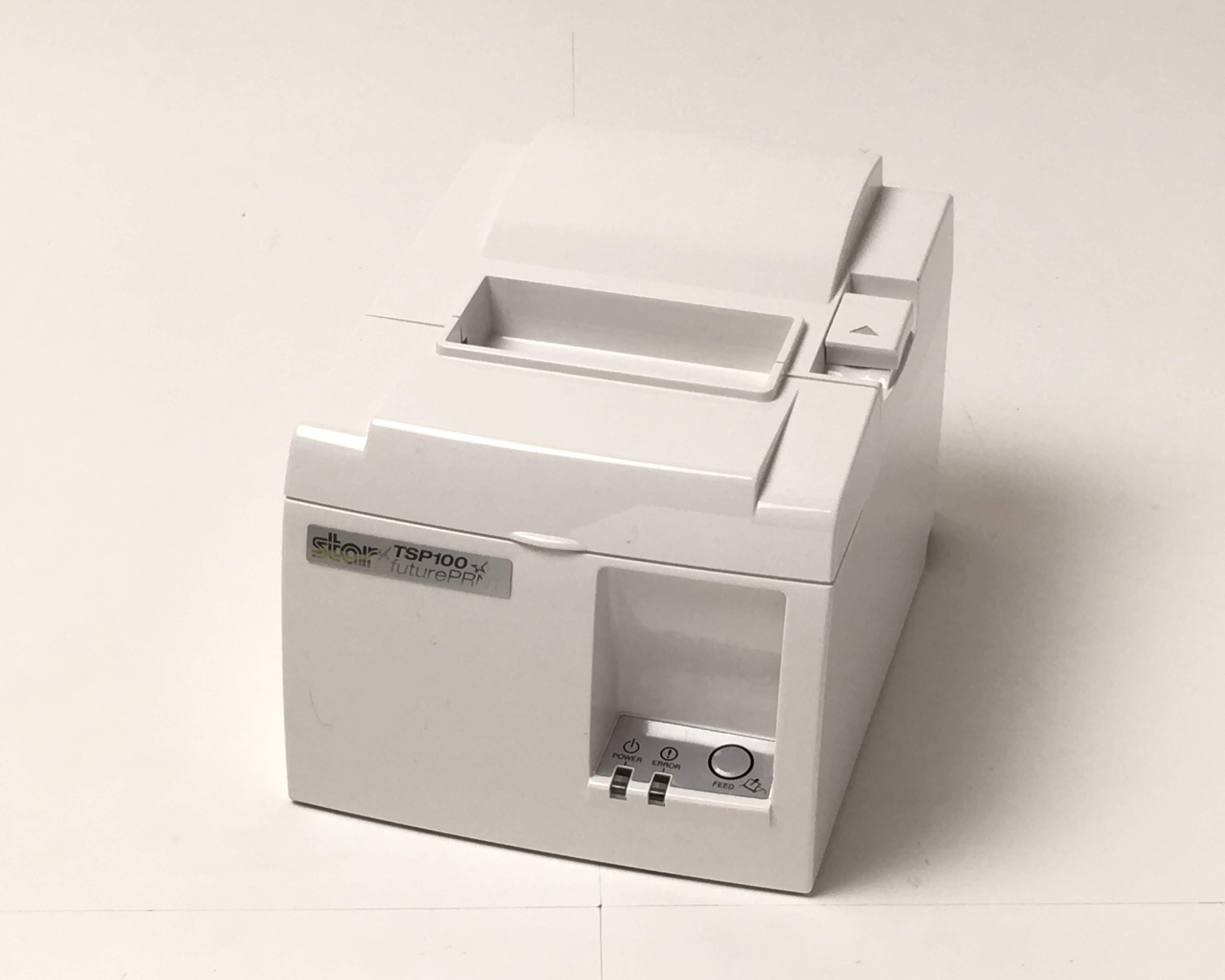 【優良中古】レシートプリンタ Star TSP100シリーズ TSP143GT(USB/80mm)ホワイト メイン画像