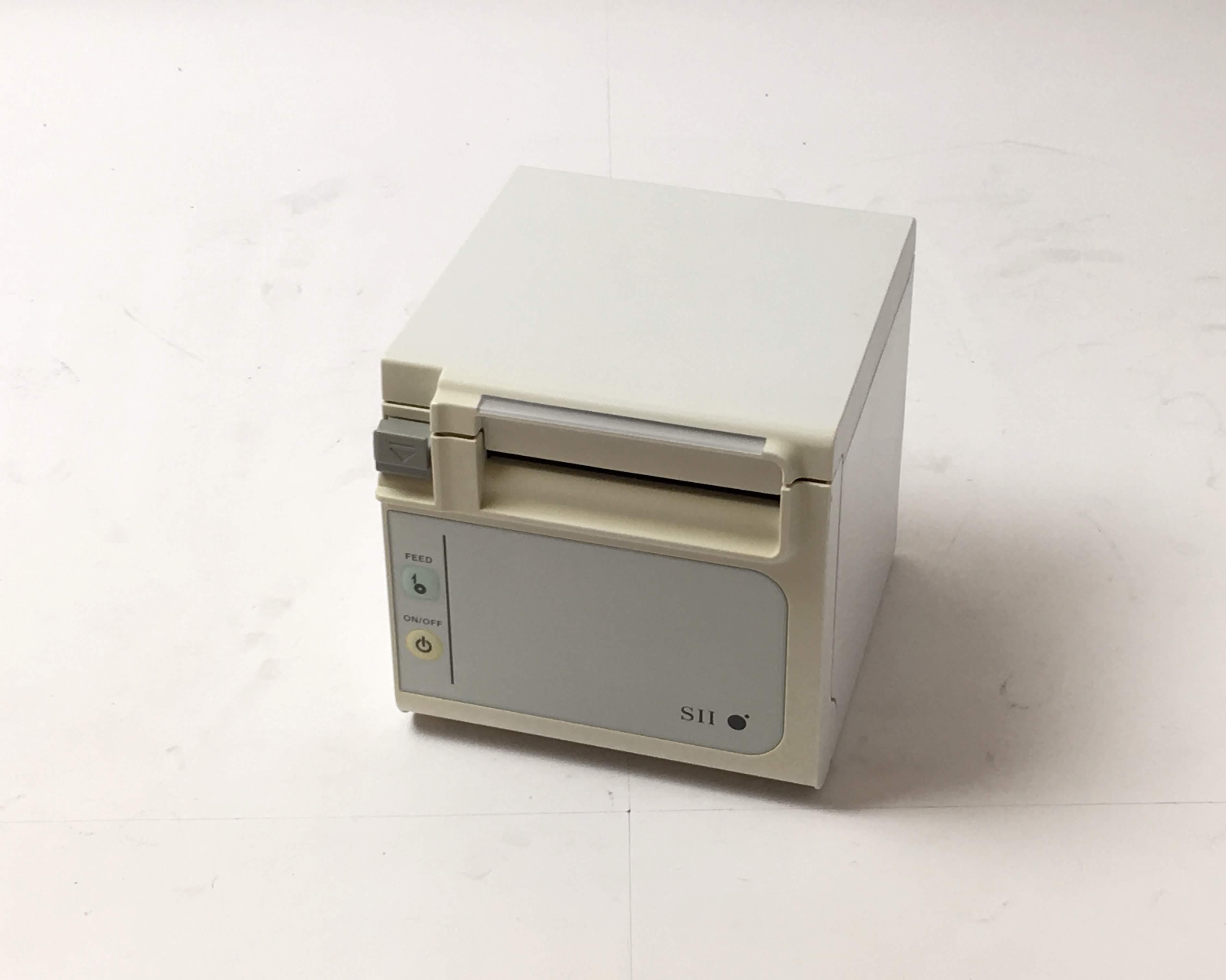 【中古】SII レシートプリンター RP-E11-W3FJ1(USB/80mm)  メイン画像