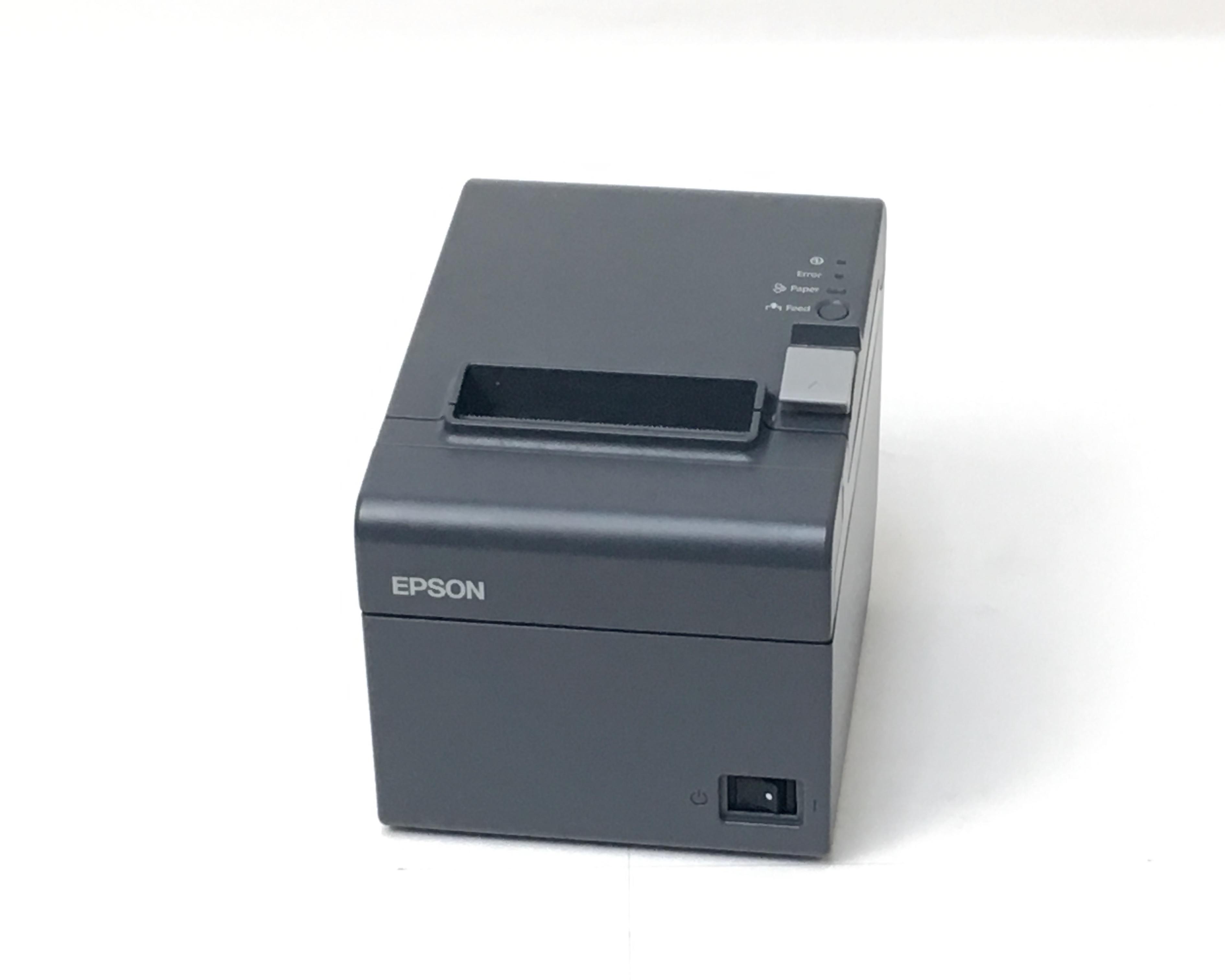【中古】EPSON レシートプリンタ TM-T202(LAN/80mm)ブラック メイン画像