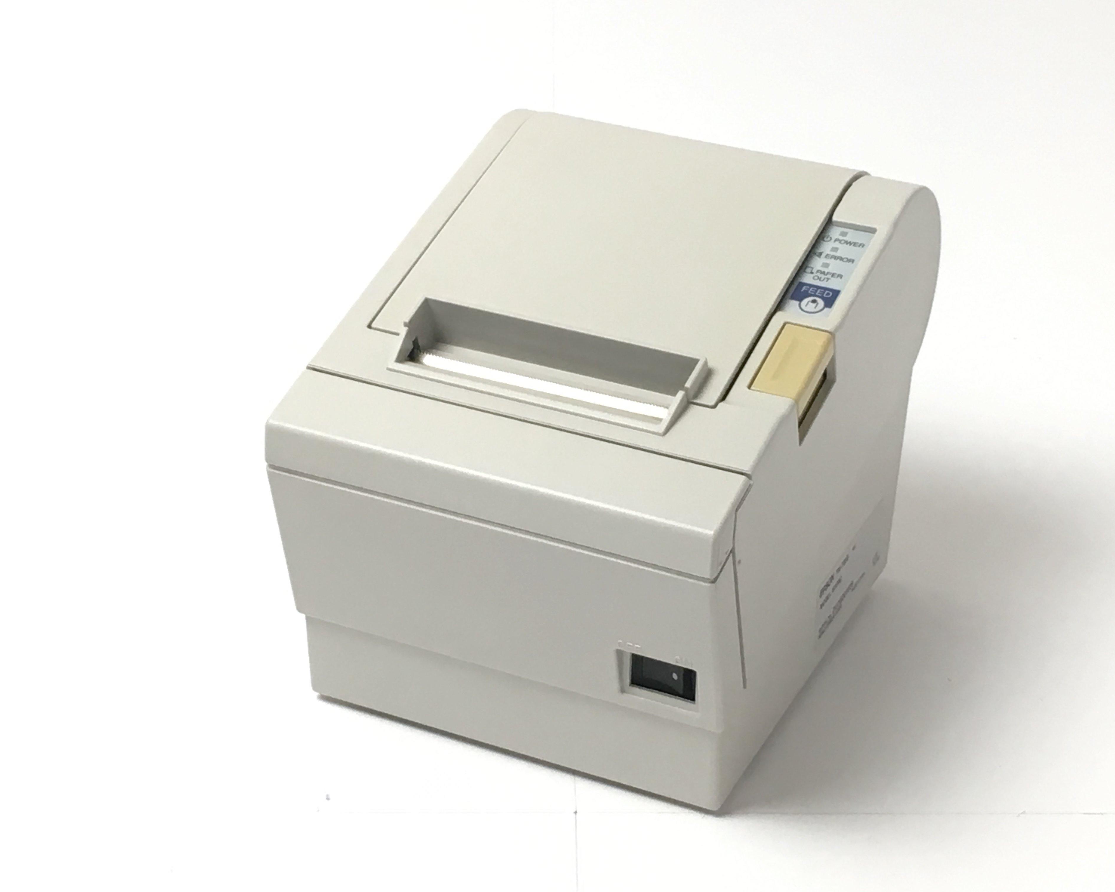 【中古】EPSONレシートプリンタ TM-T883(USB/80mm)ホワイト メイン画像