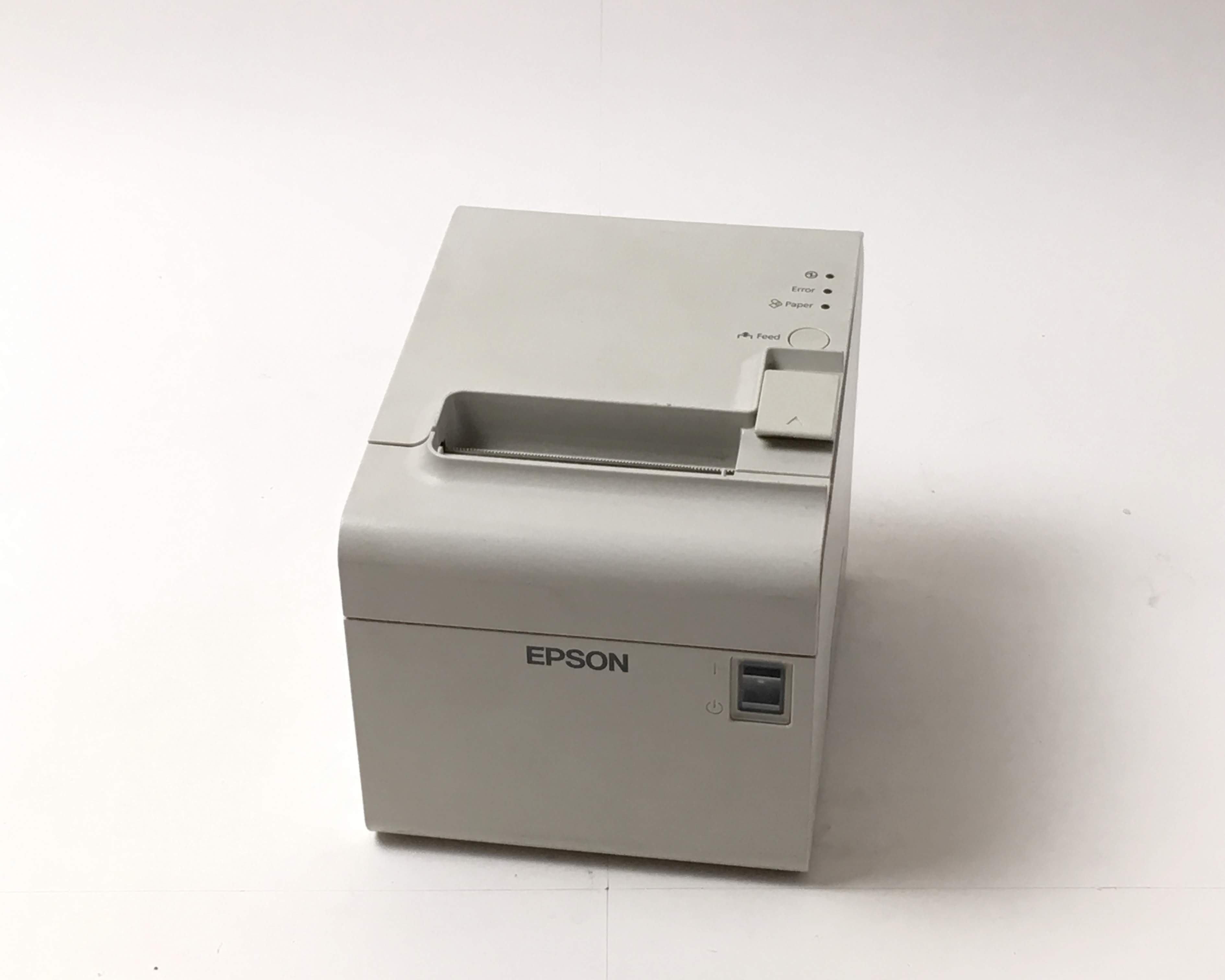 【中古】EPSON レシートプリンター TM-T90II(USB/80mm)ホワイト メイン画像