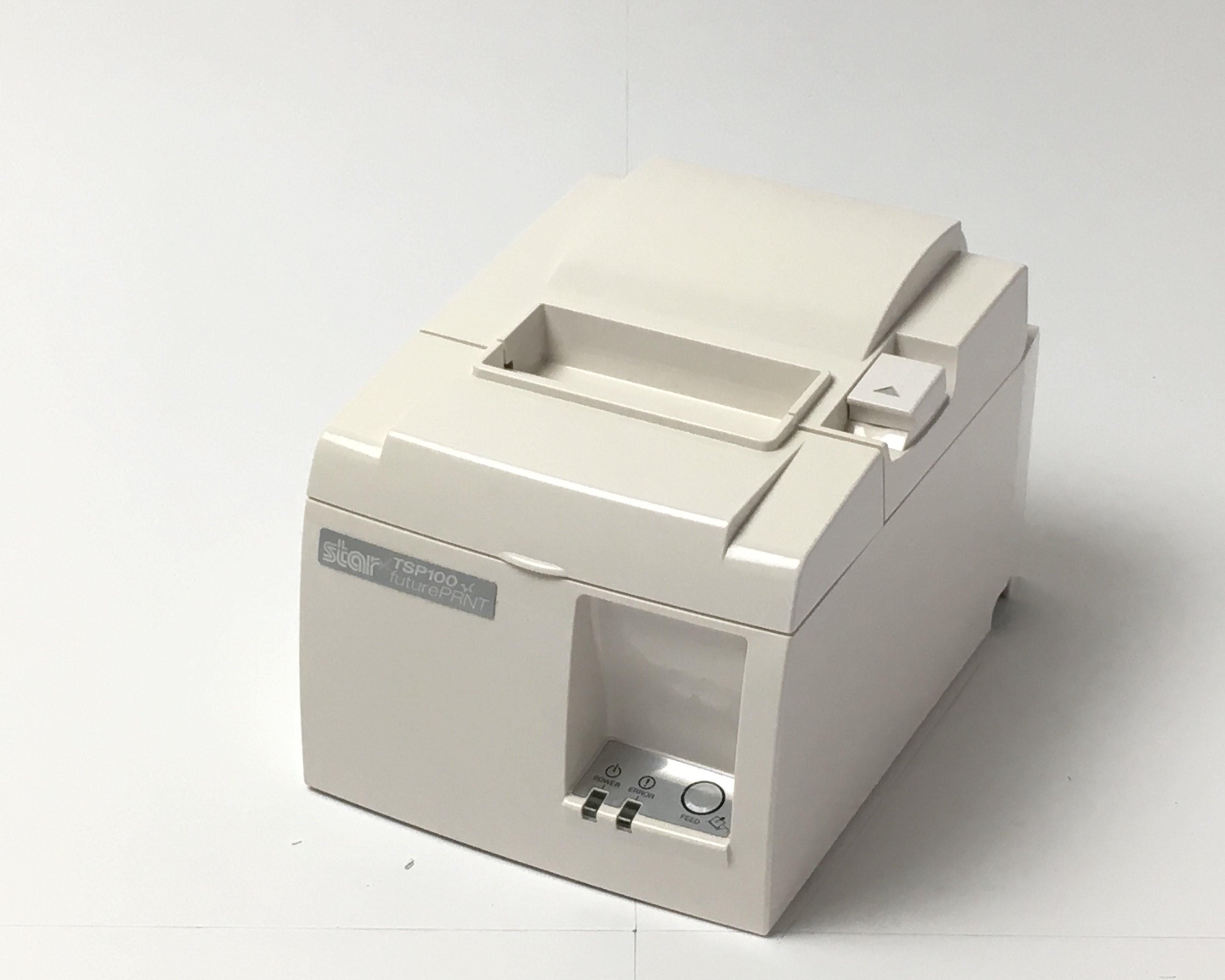 【中古】Starレシートプリンタ TSP143GT(USB/80mm)ホワイト メイン画像
