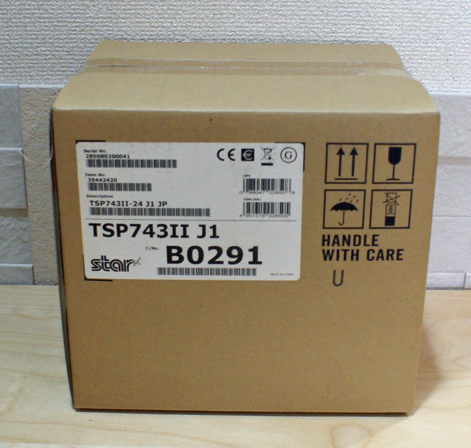 【優良中古】Star  レシートプリンター TSP743II (USB)ホワイト