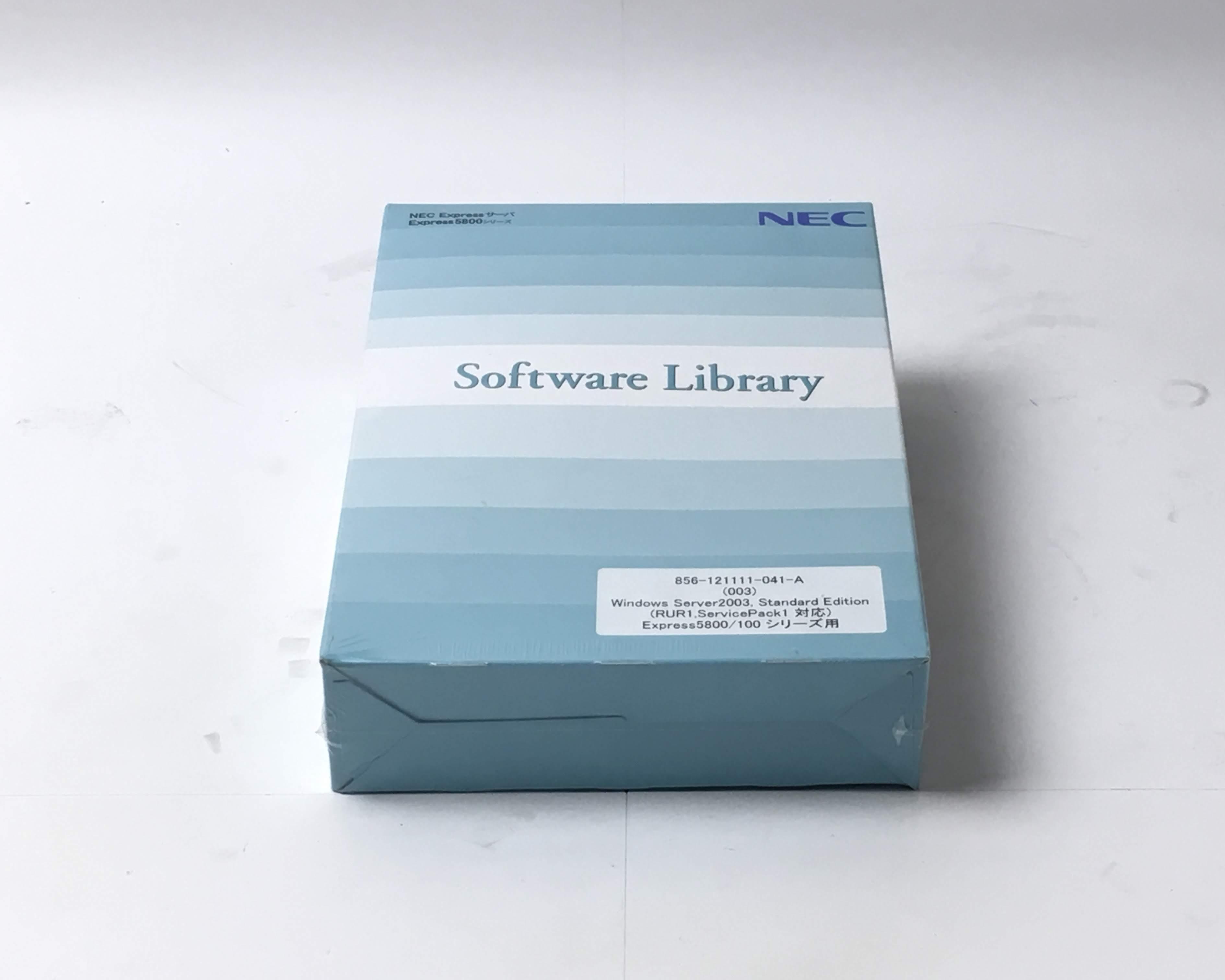 【新品】NEC Express5800シリーズ Windows Server 2003 Standard メイン画像
