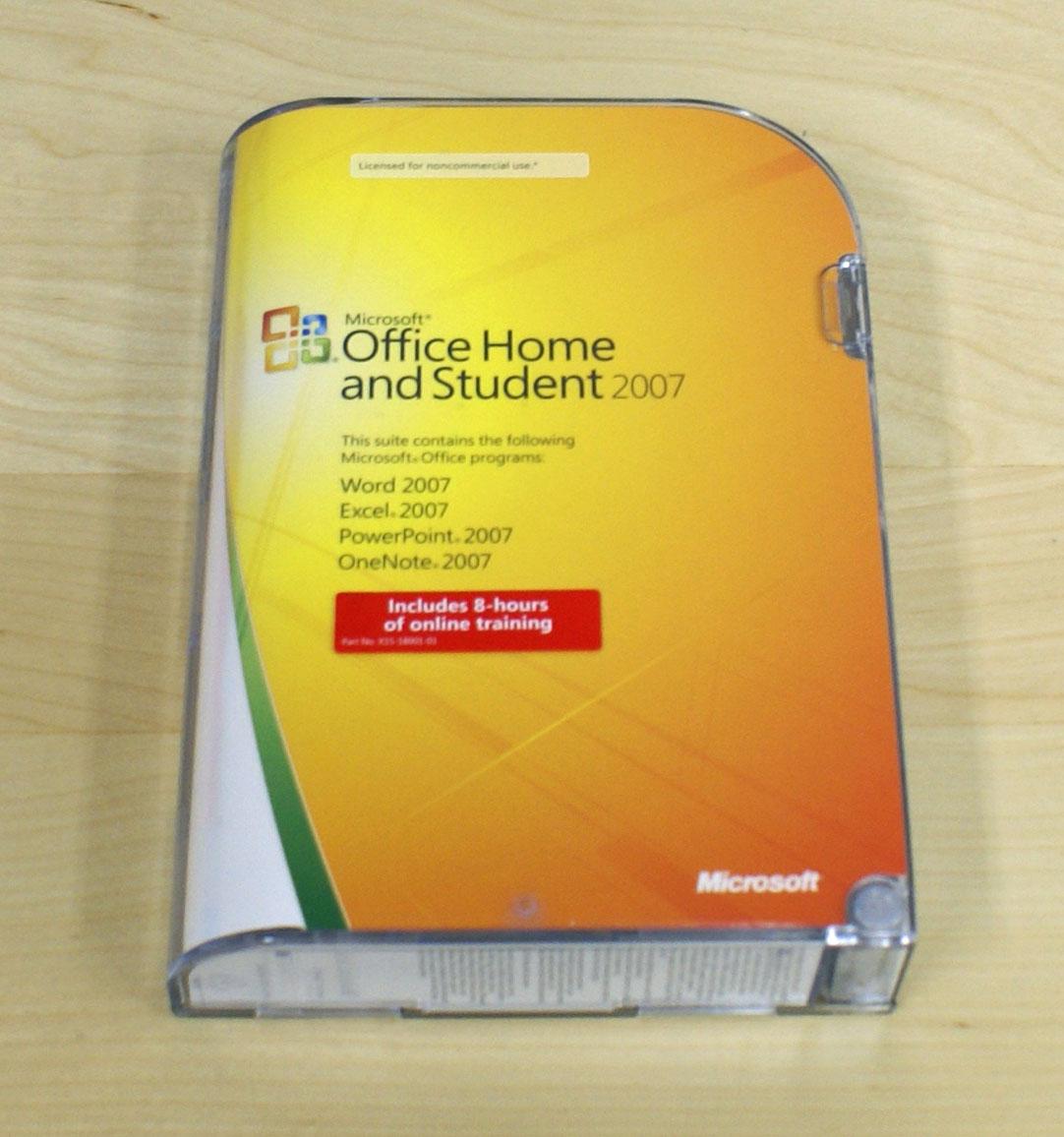 【中古】Microsoft Office HOME and Student 2007 英語版
