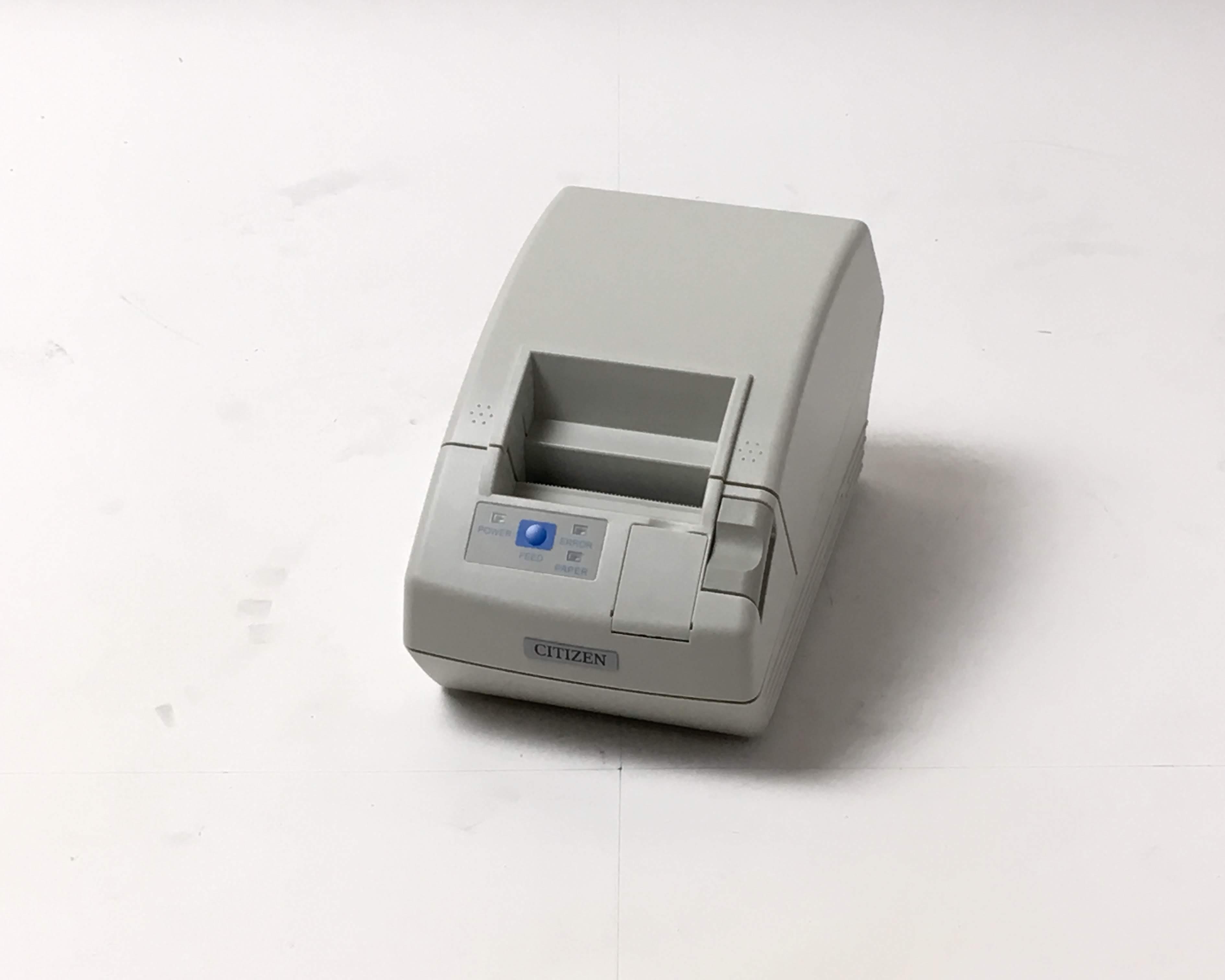 【優良中古】レシートプリンタ CITIZEN CT-S281(USB/58mm)ホワイト メイン画像