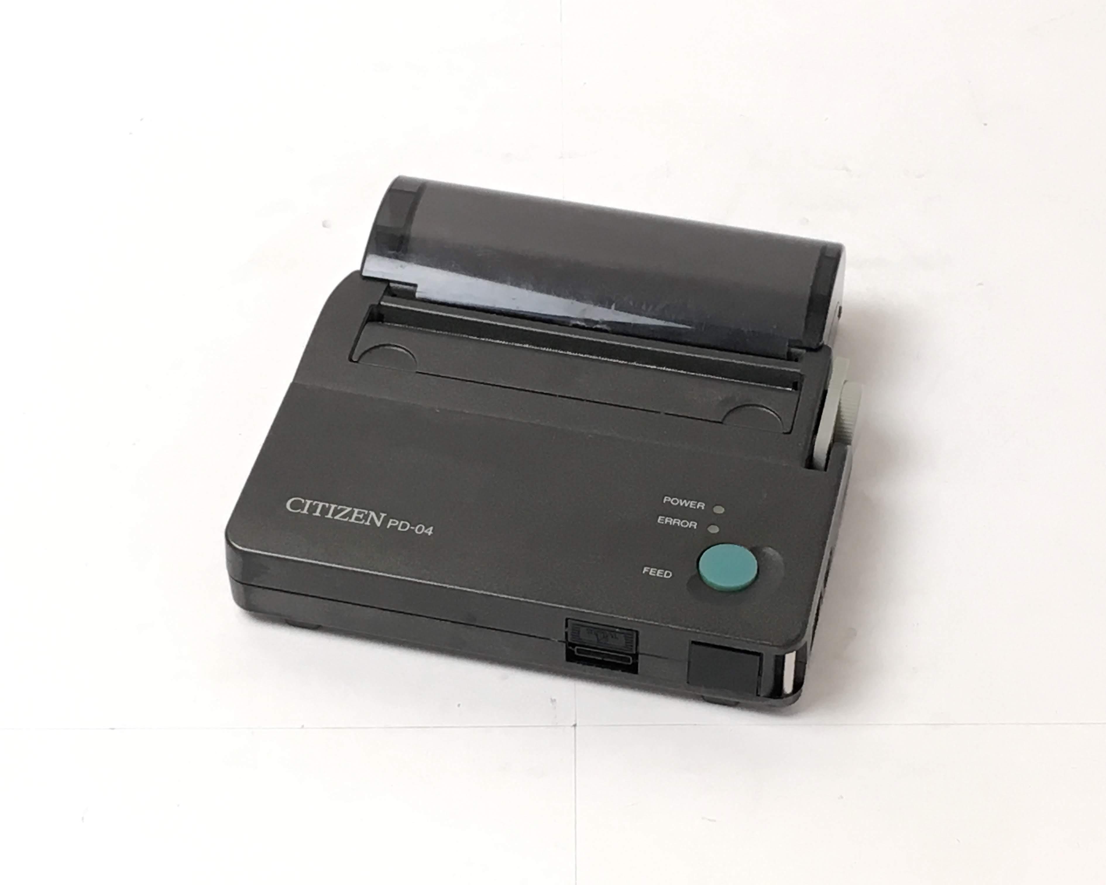 【中古】シチズン ハンディプリンタ  PD-04 電源セット(PD69922) メイン画像