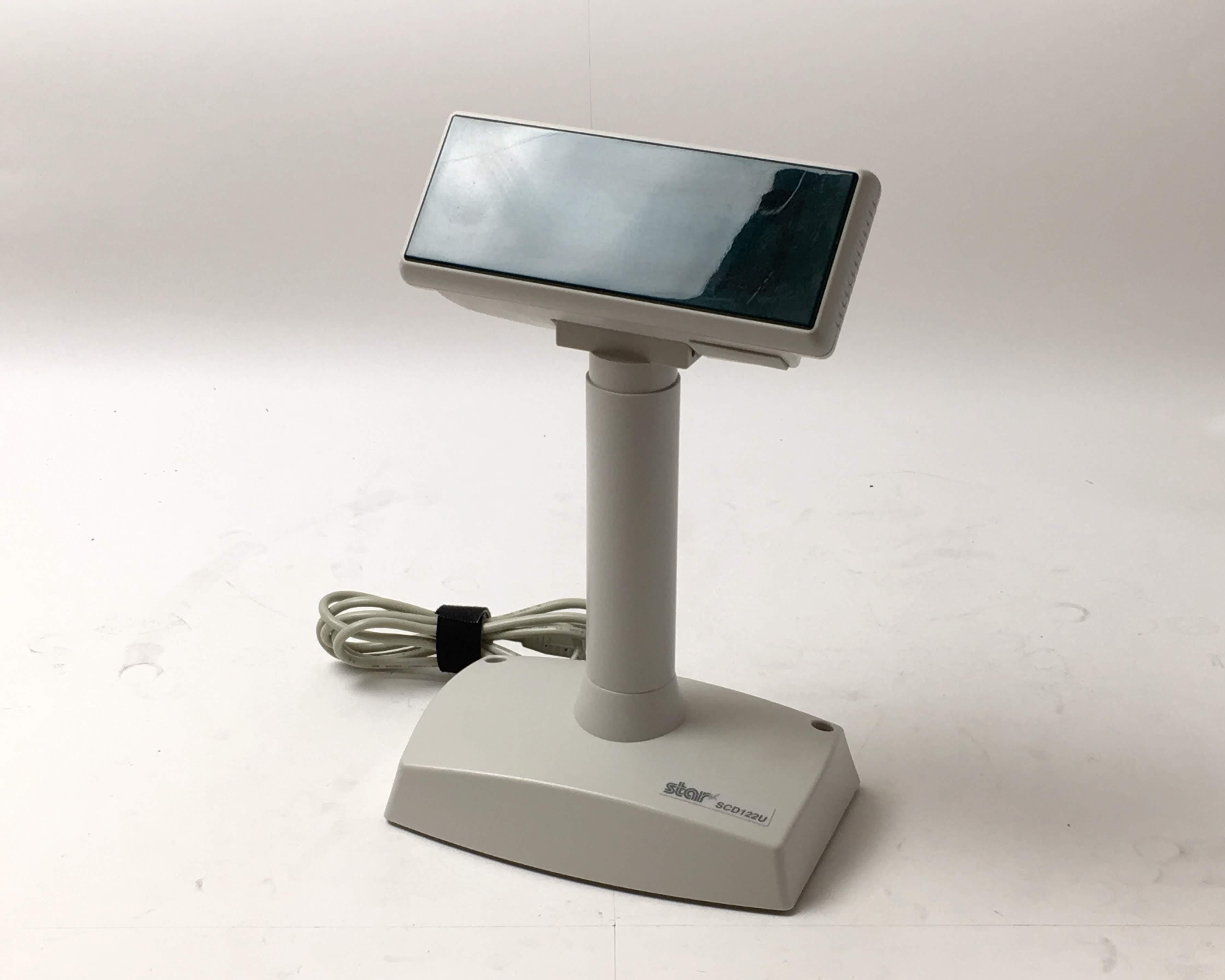 【中古】カスタマーディスプレイ スター精密 SCD122U (USB) メイン画像