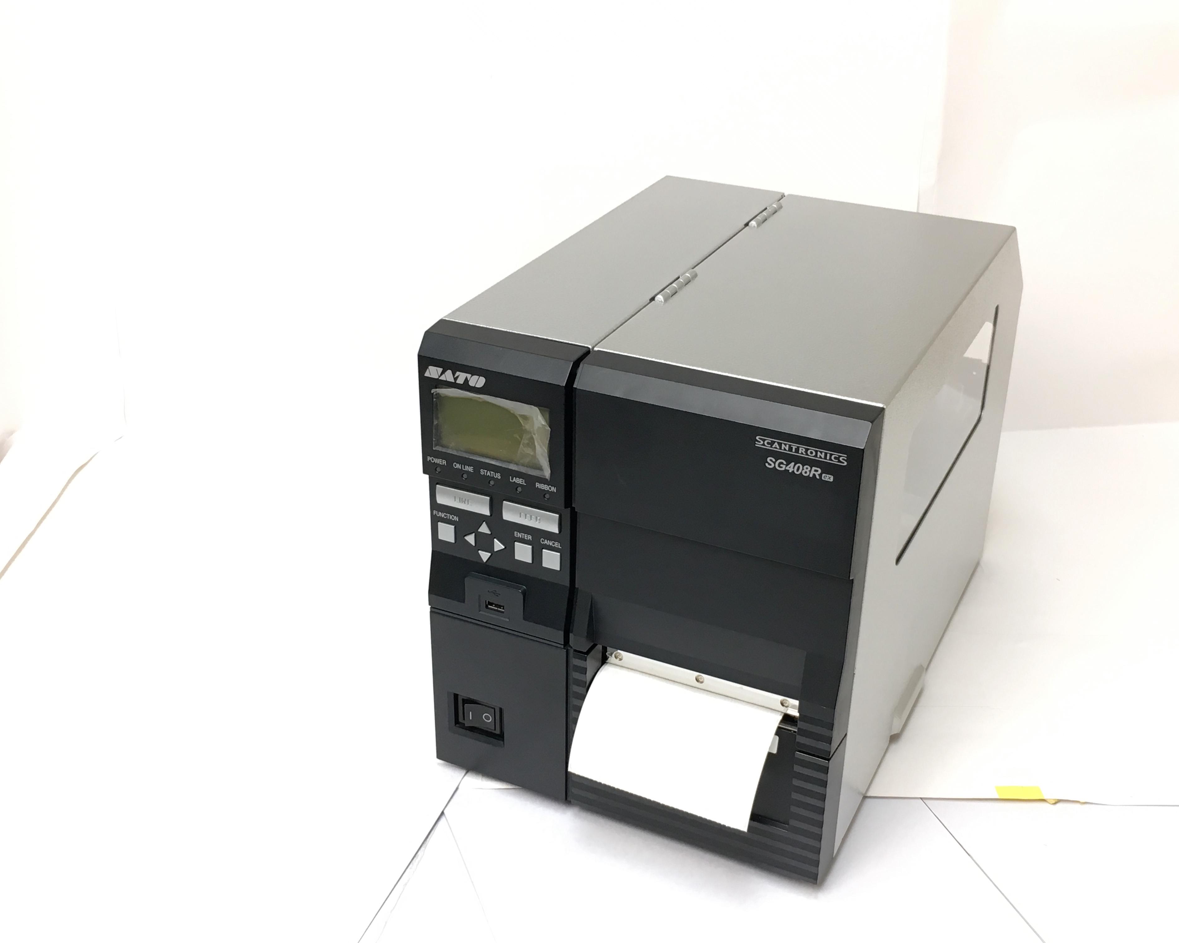 【お買得中古】SATO スキャントロニクス SG408R-EX (LAN/USB/PRT/RS232C) メイン画像