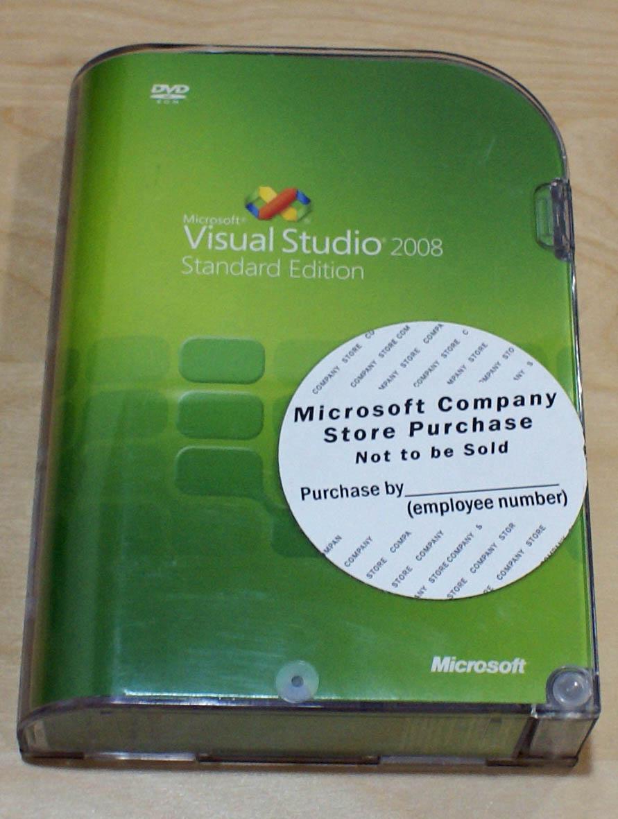 【中古】Visual Studio 2008 Standard 英語版