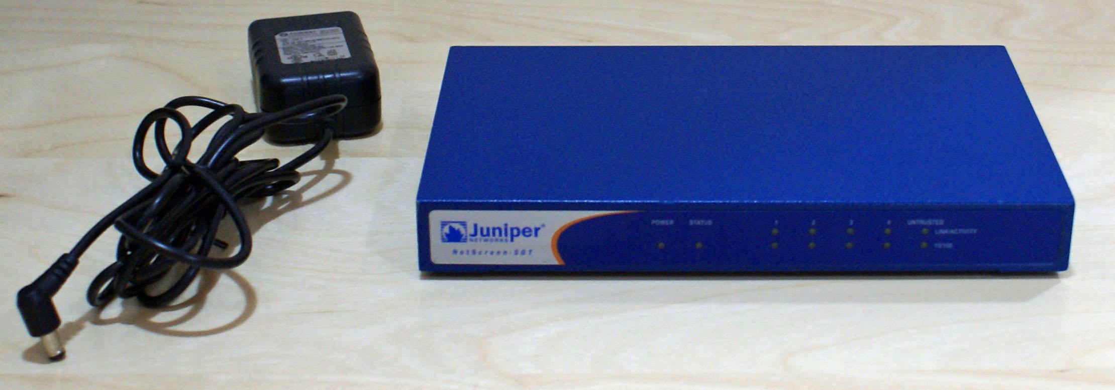 【中古品】NetScreen-5GT Juniper