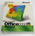 【新品】Microsoft Office2000 Personal Service Release 1 [CD-ROM] Windows