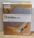 【新品】Microsoft Office OneNote 2003