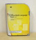【中古品】Office Multi Lang Pack 2007