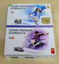 【中古品】Adobe Photoshop Elements 8 & Adobe Premiere Elements 8 日本語版 Windows版