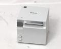 【優良中古】レシートプリンタ EPSON TM-m10(USB/Bluetooth/58mm)ホワイト メイン画像