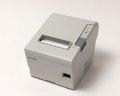 【優良中古】レシートプリンタ EPSON TM-T885(USB・パラレル/80mm)ホワイト メイン画像