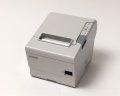 【優良中古】EPSON レシートプリンター TM-T885 (USB/RS232C/80mm)ホワイト メイン画像