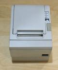 【中古】EPSON レシートプリンタTM-T882(USB/80mm) ホワイト