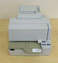 【中古】EPSON レシートプリンタ TM-H50002(USB/80mm)ホワイト
