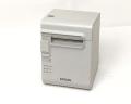 【中古】EPSON レシートプリンタ TM-L90(LAN/80mm)ホワイト メイン画像