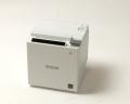 【中古】レシートプリンタ EPSON TM-m10(USB/LAN/58mm)ホワイト メイン画像