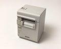 【中古】EPSONレシートプリンタ TM-T90KP(LAN/80mm)ホワイト メイン画像