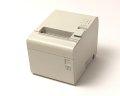 【中古】EPSON レシートプリンタ TM-T90(パラレル/80mm)ホワイト メイン画像
