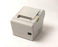 【中古】EPSON レシートプリンタTM-T882(USB/58mm) ホワイト メイン画像