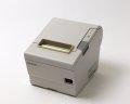【お買得中古】EPSON レシートプリンタ TM-T885(LAN/80mm)ホワイト(電源別売) トップ画像