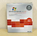 【お買い得中古品】Microsoft Windows Server 2003 R2 Enterprise w/SP2 x64 Edition 25CAL付 日本語版