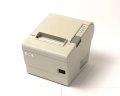 【お買得中古品】EPSON  レシートプリンター TM-T884(RS232C/80mm)ホワイト メイン画像