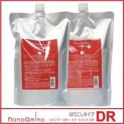 ニューウェイジャパン ナノアミノ シャンプー DR 1000ml(詰替用) + トリートメント DR 1000g(詰替用) セット