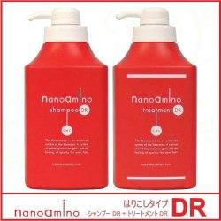 ニューウェイジャパン ナノアミノ シャンプー DR 1000ml + トリートメント DR 1000g セット