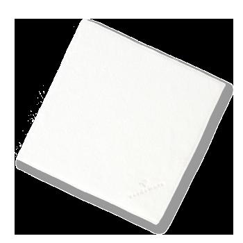 国産タオル,厚手,甘撚り,ふわふわ,ふかふか,ミニハンカチ,タオルハンカチ,ホワイト,白