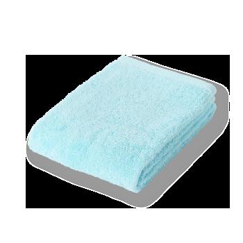 今治タオル,フェイスタオル,吸水抜群,ブルー,水色