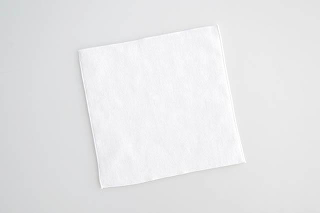 20cm,国産,ミニハンカチ,カラーハンカチ,入園,入学,ホワイト,白