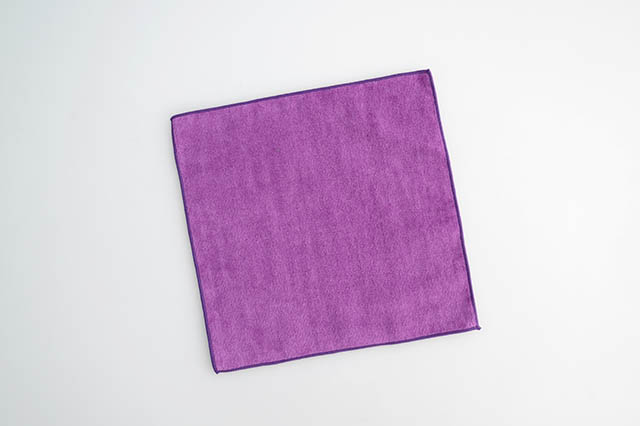 20cm,国産,ミニハンカチ,カラーハンカチ,入園,入学,パープル,紫