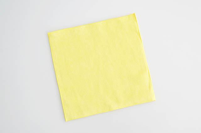 20cm,国産,ミニハンカチ,カラーハンカチ,入園,入学,イエロー,黄色
